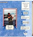 Scrapbook page example