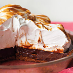 coffee smores pie