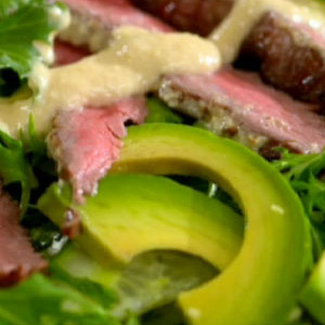 Beef Red Pepper Salad