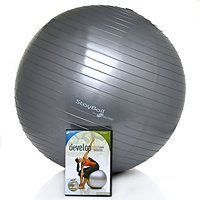 iFIT StayBall with Pump and Core Strength DVD Workout