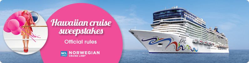 Cruise line sweepstakes