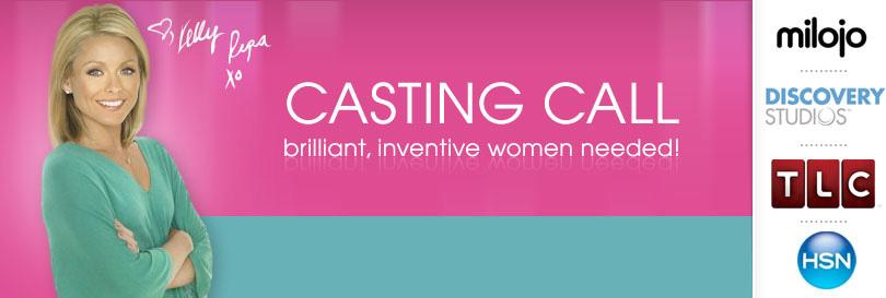 Casting Call: Brilliant, Inventive Women Needed!