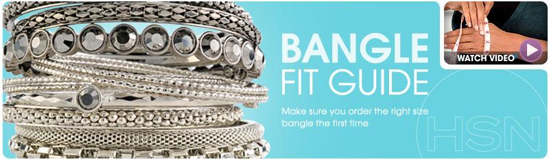 Gold & Silver Bangle Bracelets Sizing Guide