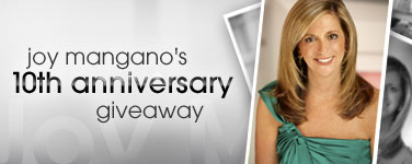 Joy Mangano's 10th Anniversary Giveaway